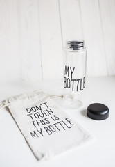 Don't touch my bottle