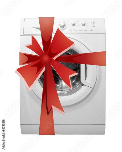 Как упаковать стиральную машину в подарок 3