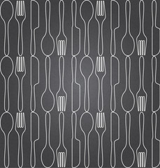 Custom vertical slats with your photo food seamless pattern