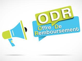 mégaphone : ODR