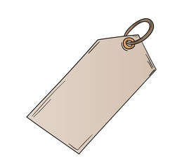 sketch of the blank label