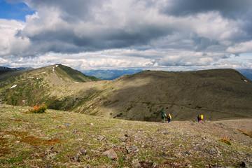 In mountain ridge Hamar-Daban