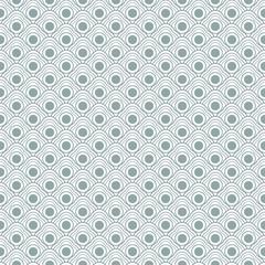 Geometric seamless waves pattern