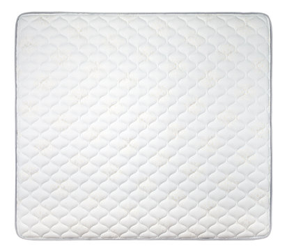 Comfortable mattress isolated on white background