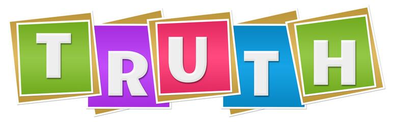 Truth Colorful Blocks