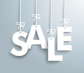 Sale Gray Background