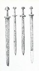 Ancient swords (Northern Europe, IX-XIII century)