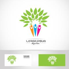 Faimily tree logo