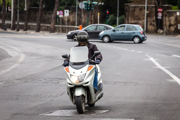 bacdfi scooter in Rome
