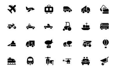 Transport Vector Icons 2