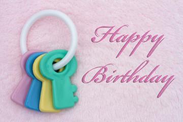Baby Happy Birthday