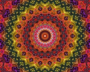 Energy mandala background