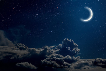 Wall Mural -  night sky