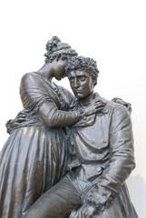 Statua di amanti