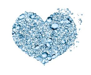 Water Drops Heart