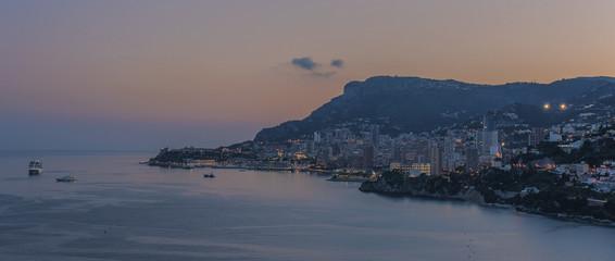 Fototapete - Monaco sunrise