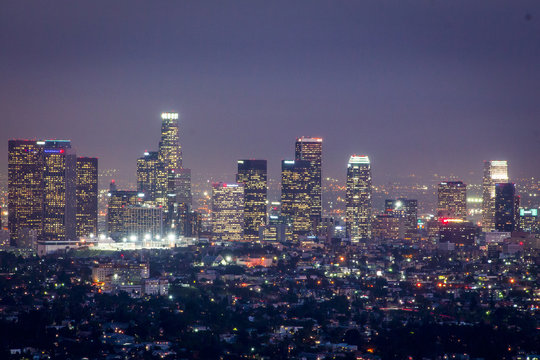 City of LA at night