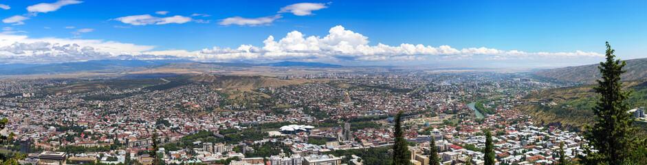 Panorama of Tbilisi. Republic of Georgia