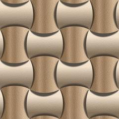 Abstract paneling pattern - seamless background - White Oak wood