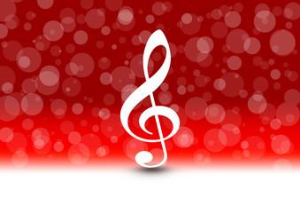 Musiknote Weihnachten / Music Sheet Christmas