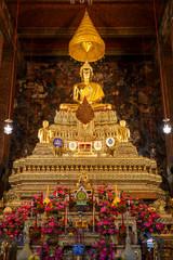 Buddha Statue at Wat Pho (Pho Temple) in Bangkok, Thailand