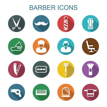 barber long shadow icons