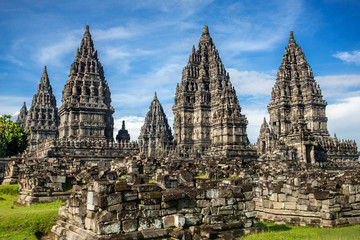 Foto op Canvas Indonesië Prambanan temple near Yogyakarta on Java island, Indonesia