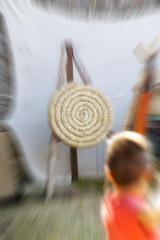 Archery. Color image