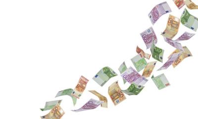 Fallende Euros