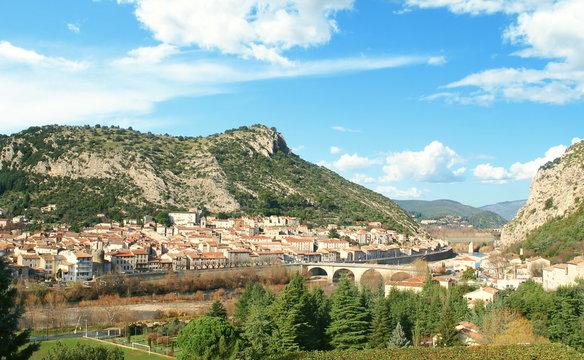 Village d' Anduze en Cévennes