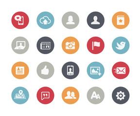 Social Web Icons // Classics Series