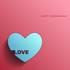 Valentines day, Love, Vector banner
