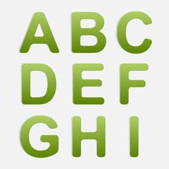 Vector Alphabet Set.