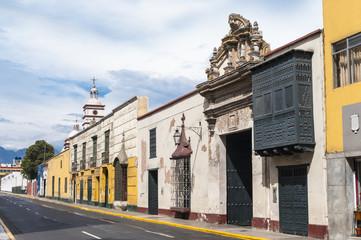 Traditional style architecture found in Trujillo, Peru