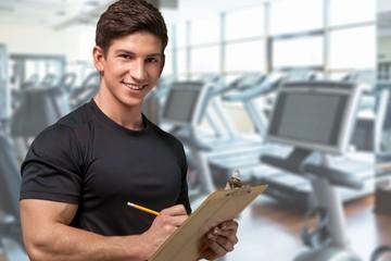 Instructor, Exercising, Coach.
