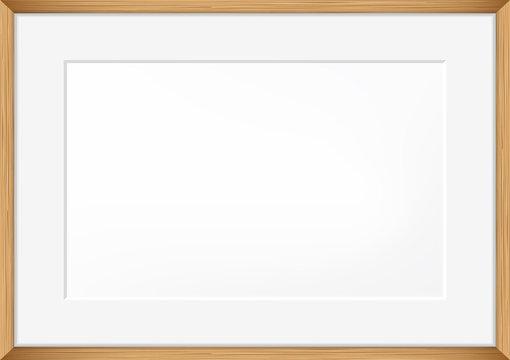 Vector blank of Photo frame