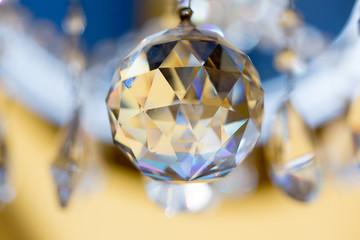 lampadario di cristallo