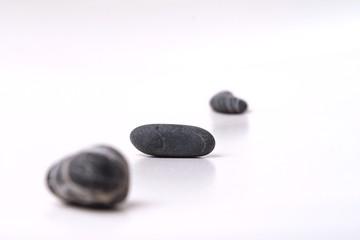 Steine mit Schärfentiefe