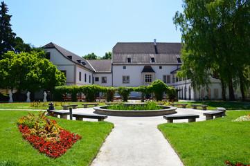 Park and Museum. public place. Wels, Austria