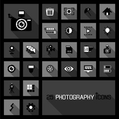photography icons concepts