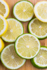 Citrus slices - lemon and lime