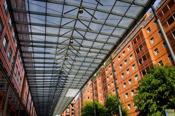 Immeubles à la Cité Internationale de Lyon
