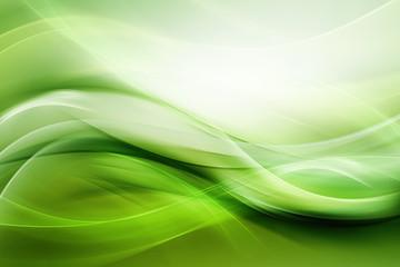 Elegant Modern Light Green Background Wall mural