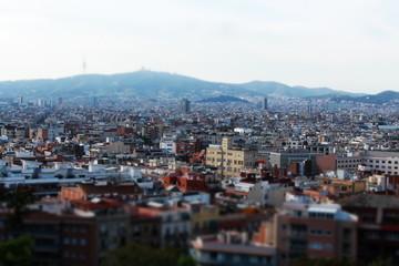 Barcelona Miniatureffekt