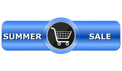 Summer Sale Blue Button