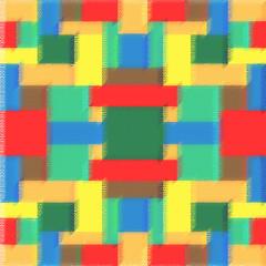 Цветной геометрический абстрактный фон