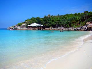Tropical paradise/Fantastic beach of Raya Island, Thailand