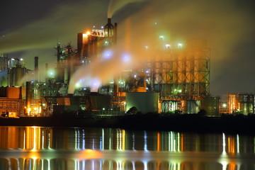 北九州の工場夜景