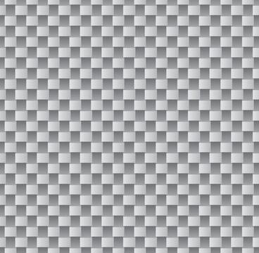 Carbon fiber seamless pattern design vector