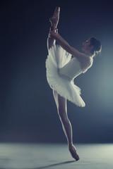 Ballerina showing split